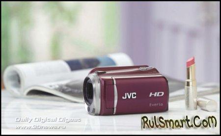 Видеокамера-малютка JVC Everio GZ-HD620 с HDD на 120 Гб