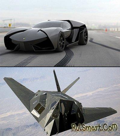 Концепт Lamborghini Reventon – истребитель на дороге