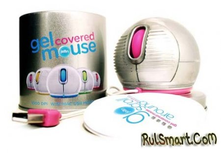 Шарообразная мышь Jelfin Mouse