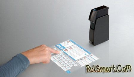 Проектор Light Touch создаёт сенсорный экран на любой поверхности