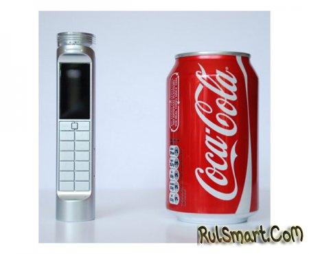 Телефон, работающий на Кока-коле