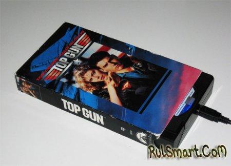 винчестер из старой VHS-кассеты