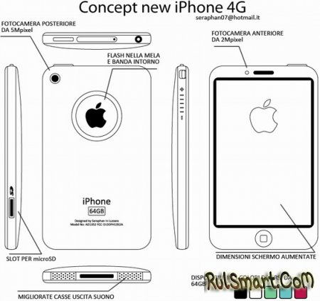 Apple iPhone 4G - какой он? | apple iphone 4g характеристики