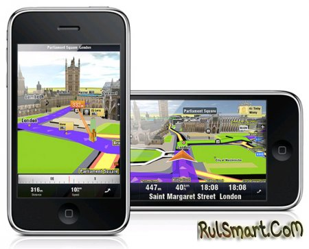 Sygic Aura - красивая 3D навигация для iPhone
