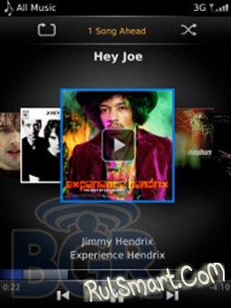 Скриншоты BlackBerry OS 6.0