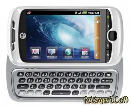 T-Mobile myTouch 3G Slide - Android коммуникатор с QWERTY клавиатурой