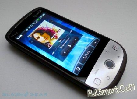 Оператор Sprint выпустил Android 2.1 для HTC Hero