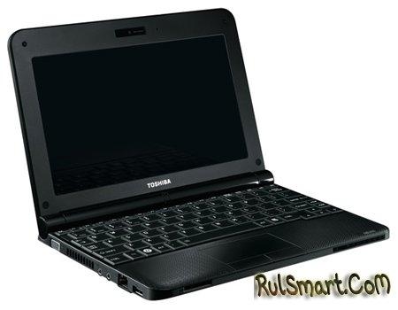 Нетбук на базе Intel Atom N455 - Toshiba NB250