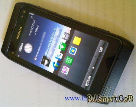 Nokia N8 в черном цвете