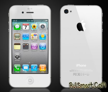 Белые iPhone 4 отложили до середины июля