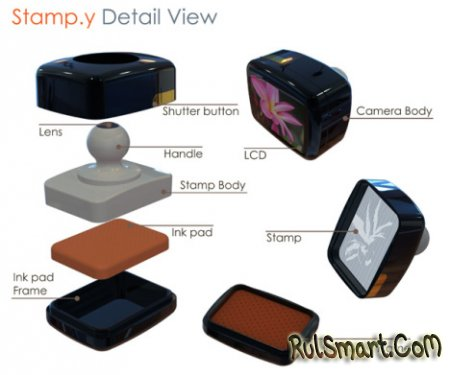 Stamp.y – фотоаппарат + штамп
