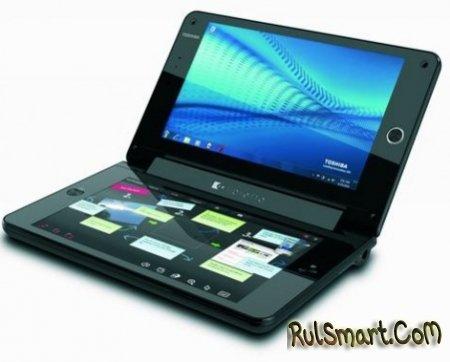 Toshiba Libretto W100 – смартбук с двумя сенсорными экранами