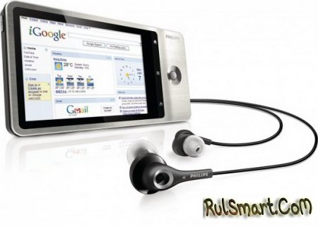 Philips GoGear Connect – карманный конкурент Apple iPod Touch