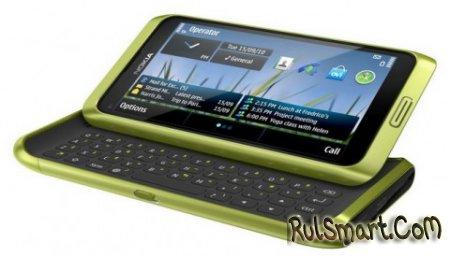 Nokia E7 с официальным анонсом