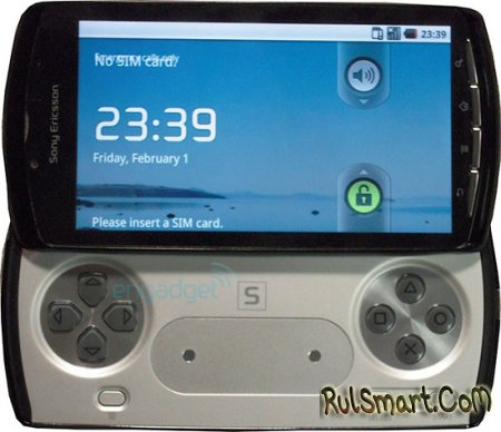 Фото Sony Ericsson PlayStation Phone