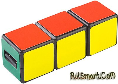 Необычная флешка кубика Рубика