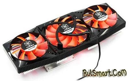 GPU-кулер Inno3D iChill VC26 для GeForce GTX 580 и 570