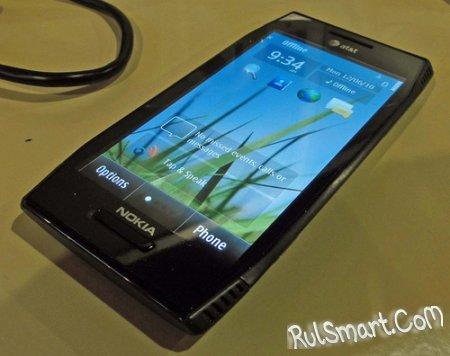 Смартфон Nokia X7 на фото