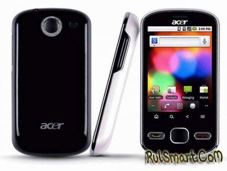 Официальный анонс Acer beTouch E140