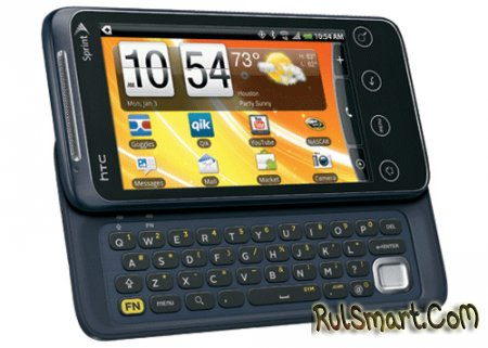 HTC EVO Shift Характеристики и фото