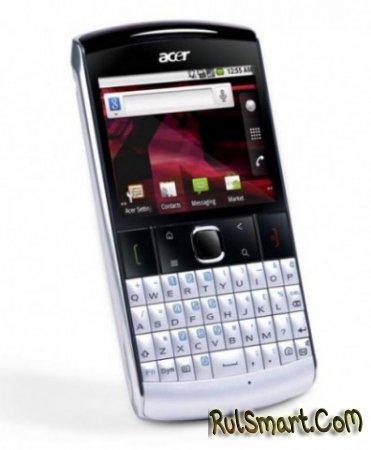 Acer beTouch E210 – анонсирован