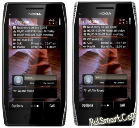 Nokia E6 и X7 официально анонсированы