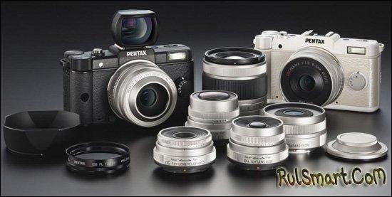 PENTAX Q: Камера со сменной оптикой