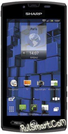 Sharp AQUOS PHONE SH80F с 1.4 ГГц процессором