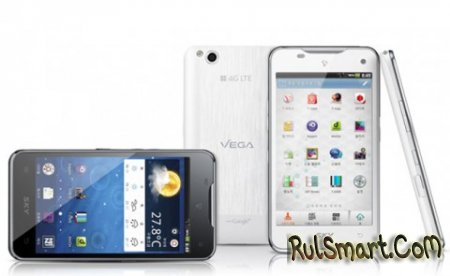 Pantech Vega LTE - ��������� iPhone 4