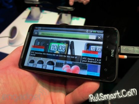 Android 4.0 портирован на HTC Desire HD