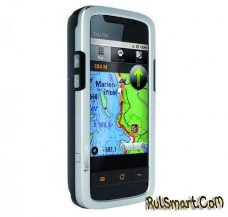 Tak Wak tw700 - защищённый смартфон на Android