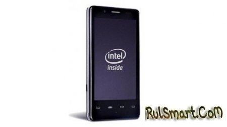 Orange London : смартфон на платформе Intel Medfield