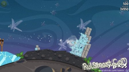 Angry Birds Space : злые птички в космосе