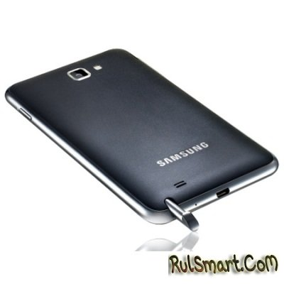 Samsung Galaxy Note II с гибким дисплеем