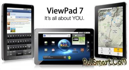 ViewSonic ViewPad 7: назад в прошлое