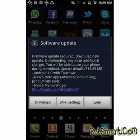 Samsung Galaxy Note ������� Android ICS 4.0.4