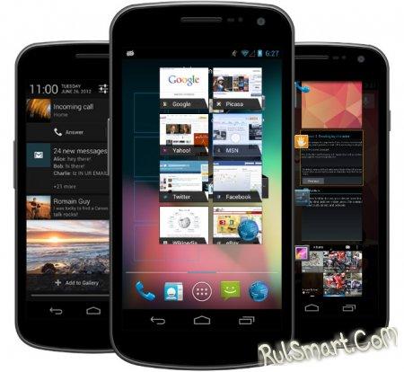 Android 4.1 : опубликован список изменений