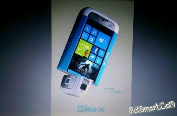 Nokia Lumia X на Windows 8
