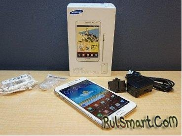Samsung Galaxy Note II - фото и характеристики