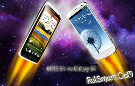HTC One X+ ������ Samsung Galaxy S III