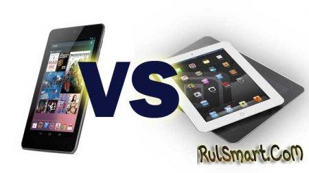 Краш-тест: iPad mini vs Nexus 7