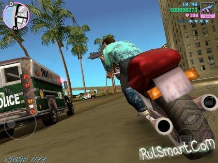 Скриншоты геймплея GTA: Vice City для iOS и Android