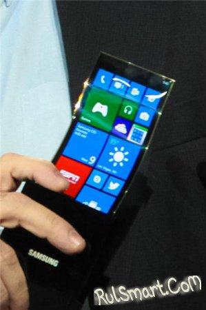 CES 2013: прототип смартфона с гибким дисплеем