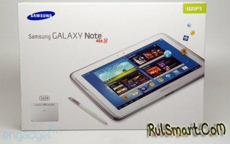 Первые фотографии планшета Samsung Galaxy Note 8.0