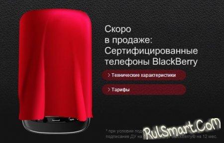 МТС Украина запустит 4 модели BlackBerry в феврале