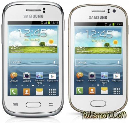 Samsung Galaxy Young и Galaxy Fame официально представлены