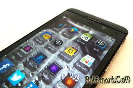 Вышло первое обновление BlackBerry 10 OS