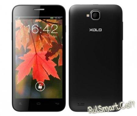 Lava Xolo Q800 - индийский смартфон с 4-ядерным процессором