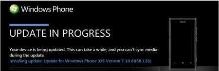Microsoft возобновила процесс обновления до Windows Phone 7.8