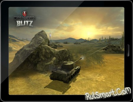 Игра World of Tank Blitz вышла на Android
